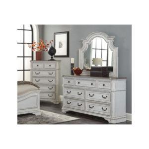 Raquel Dresser & Mirror