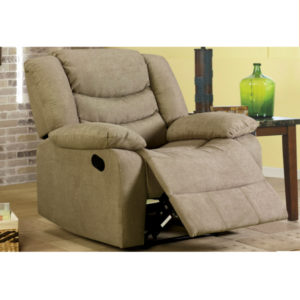 Cosmo Taupe Power Recliner