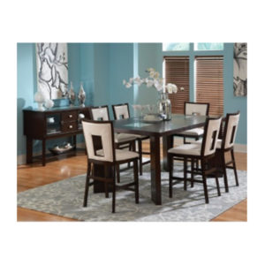 Delano 7pc Counter Dining Set