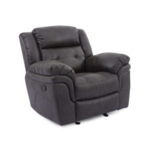 Houston Slate Glider Recliner