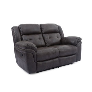 Houston Slate Reclining Loveseat