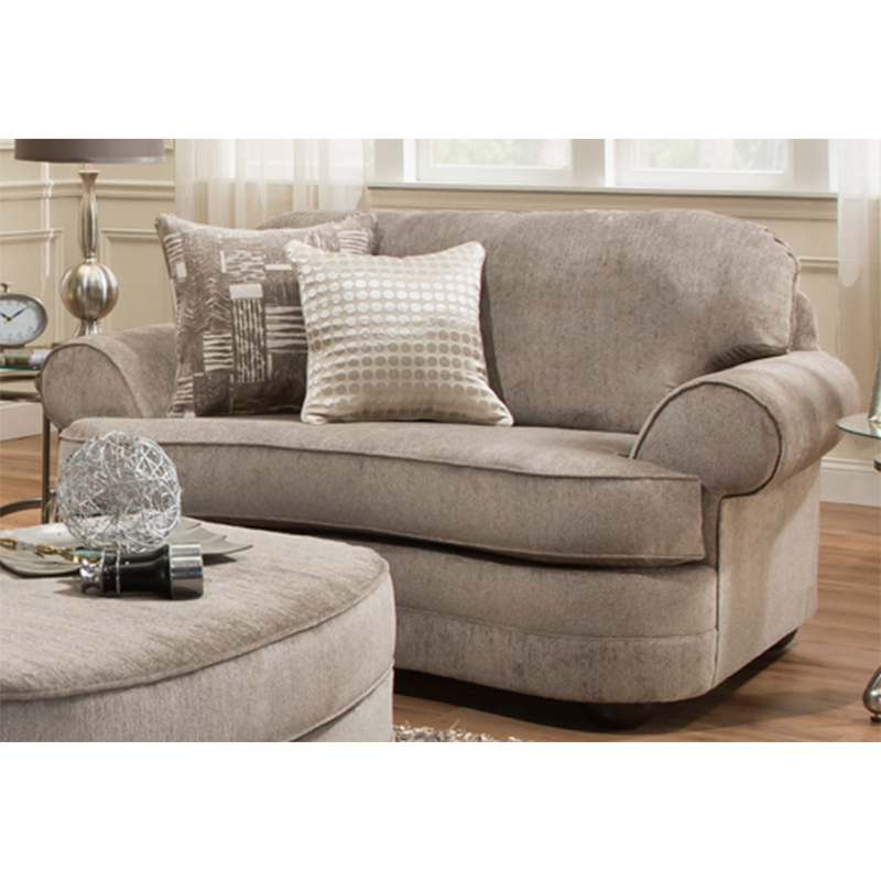 Kingsley Pewter Oversized Chair Cleo