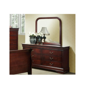 Louis Phillippe Dresser and Mirror
