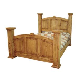 Mansion King Bed Natural