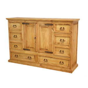 Rustic Mansion Dresser