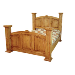 Mansion Queen Bed Natural