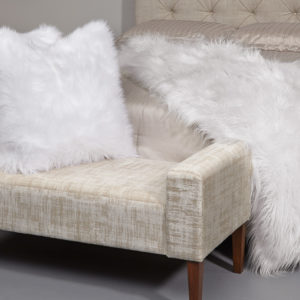 Feather Down Pillow White