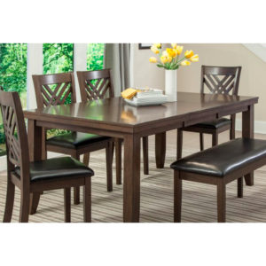 Tawny 6 pc Dining Suite