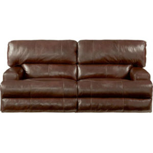 Wembley Walnut Reclining Sofa