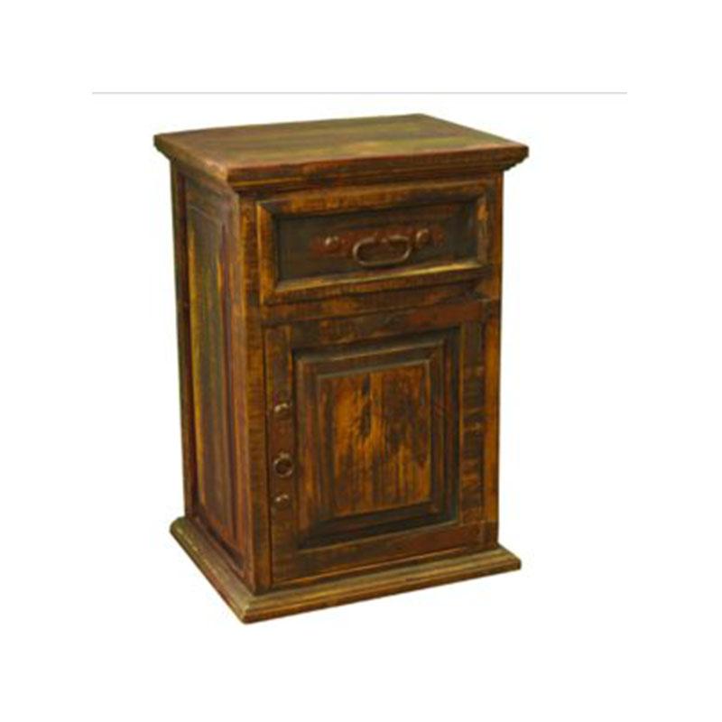 Arizona One Door Accent Table Cleo S Furniture