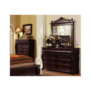 Buckingham Dresser and Mirror