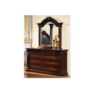 European Dresser and Mirror