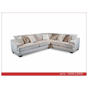 Gene Linen 2 pc Sectional