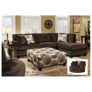 Groovy Chocolate Sectional
