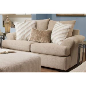 Intermix Khaki Loveseat