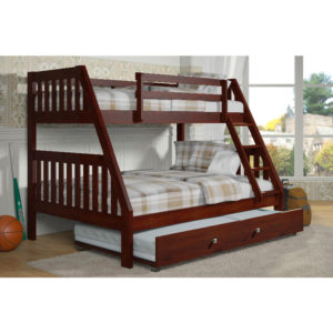Layton Twin Over Full Bunk Bed With Trundle