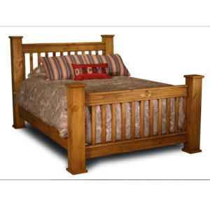Sawyer Queen Mission Bed
