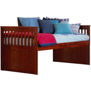 Merlot Twin Mission Rake Bed