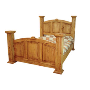 Mansion King Bed Natural