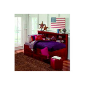 Merlot Twin Bookcase Daybed With 6 Drawers