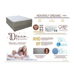 Heavenly Dreams Queen Mattress Set