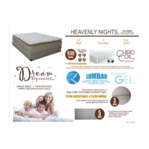 Heavenly Nights Queen Mattress Set