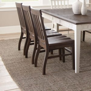 Cayla Dark Oak Side Chair