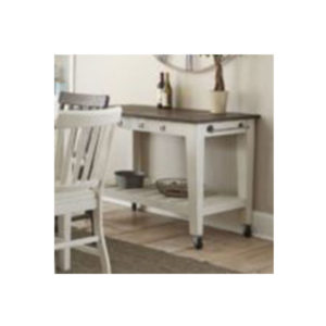 Cayla Dark Oak/White Server