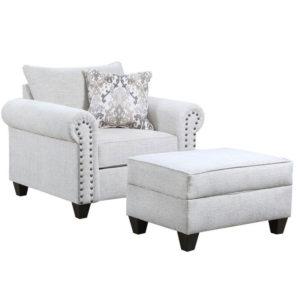 Della Linen Chair