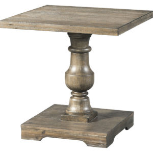Charleston Pedestal End Table