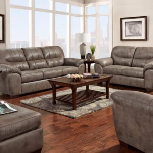 Denver Gunmetal Sofa