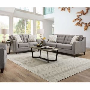 Jenson Grey Loveseat