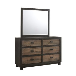 Harlington Dresser and Mirror