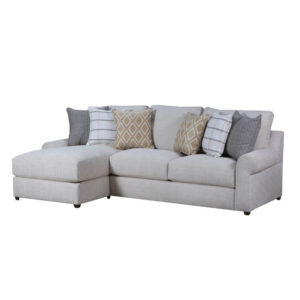 Victory Lane Taupe Sectional Cleo S Furniture