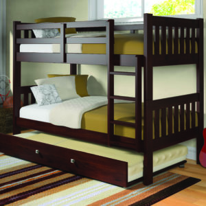 Layton Twin Over Twin Bunk Bed With Trundle