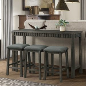 Shelter Bay Bar Table w/ 3 Stools