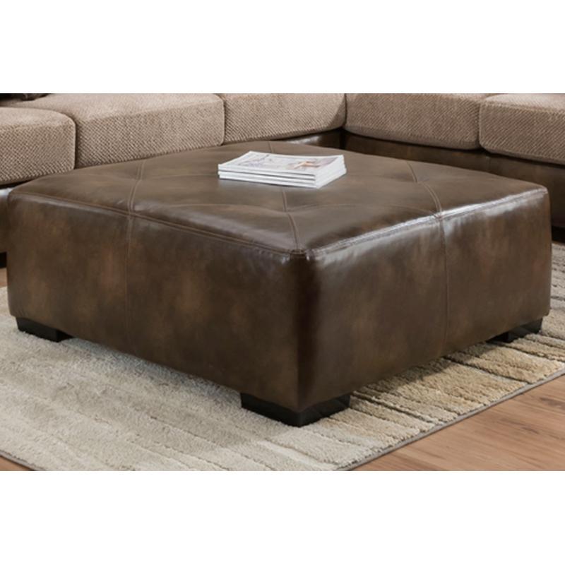 Cleo's Gold Rush Cafe Ottoman