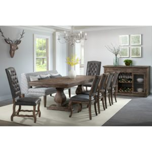 Gramercy Dining Table Top w/ Base