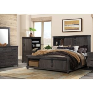 Scott King Storage Bed
