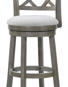 Antique Grey Swivel Stool 29""