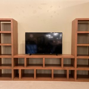 TWO FREE PIERS WITH PURCHASE OF 69″ OR 82″ CONSOLE AVAILABLE IN KNOTTY HUSK OR CAFÉ BROWN