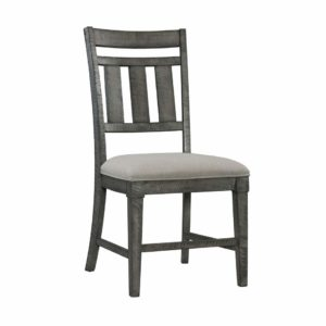 Old Forge Wood Back Side Chair
