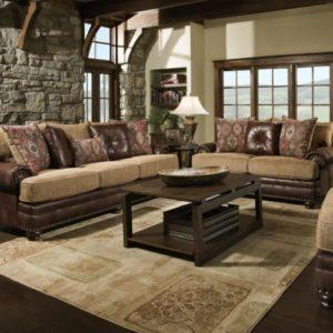 Yellowstone Chocolate Sofa