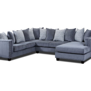 Moonstruck Grey 3 pc Sectional