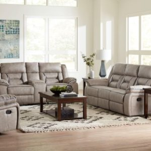 Engage Taupe Swivel Glider Recliner