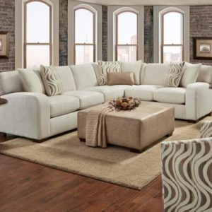 Chandler Pebble 2 Pc Sectional