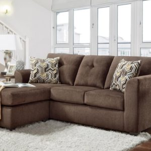 Kelly Chocolate Sofa/Chaise