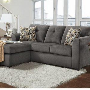 Kelly Grey Sofa/Chaise