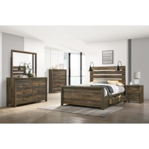 Dallas Queen Storage Bed
