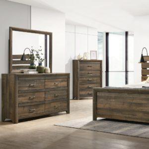 Dallas Dresser W/ Mirror